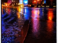 Julaftons morgon regnet piskar i vinden. God jul alla .....