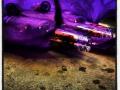 Kvarlämnade rester från förfesten en lillördag dvs en vanlig torsdagsmorgon på väg till jobbet