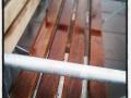 Pendeltågstationviloplats eller bara en blöt bänk?