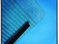 Glastak, blå himmel och en isande kall nordan ytterligare en dag i Maj