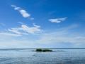 En liten liten ö vid Hindens rev