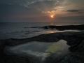 Solnedgång i västerhavet