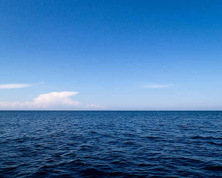 Lugnt och still hav första maj 2015